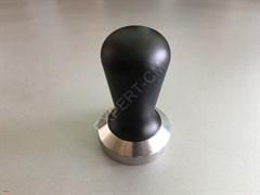 Темпер сталь с алюминиевой черной ручкой 58,5мм