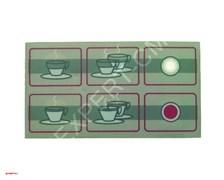 Стикер кнопочной панели 5 кнопок FUTURMAT/GAGGIA/ITALCREM
