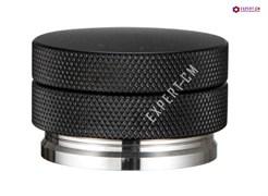 Пуш темпер (Push tamper) плоский рельефный черный 58 мм