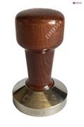 Темпер сталь с коричневой ручкой (дерево) d58,5мм EXPERT-CM