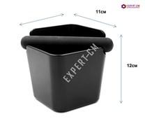 Нок-бокс пластик для кофe черный h12xd11см для кофe
