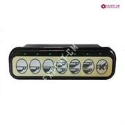 Кнопочная черная панель управления ELEKTRA 7 кнопок