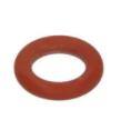 Кольцо уплотнительное OR 02021 красный силикон