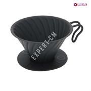 Воронка  металлическая черная Hario VDM-02-MB на 1-4 чашки***