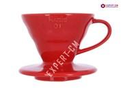 Воронка керамическая красная Hario VDC-01R на 1-2 чашки***