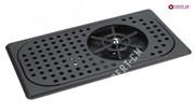 Ринзер черный встраиваемый для питчеров 325x175x40мм сталь S/S304 1мм
