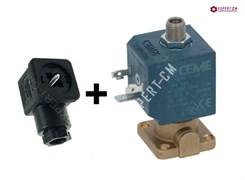 Соленоидный клапан CEME 6270VN15SBIF 230В 3х поз. с разъемом