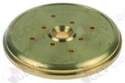 Диффузор группы NUOVA SIMONELLI Ø57.4мм H7.5мм 8отв.Ø2мм (латунь