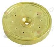 Диффузор группы ELEKTRA Ø57мм H8.5мм 10отв.Ø1,2мм (латунь)