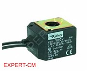 Катушка солен.клапана PARKER YB09 220-240В, 9Вт, Ø14мм (кабель)