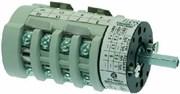 Переключатель пакетный 3х поз. 230В 20А L21мм,вал 5х5мм