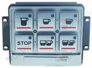 Блок кнопочной панели BRASILIA (6 кнопок) L100мм W90мм