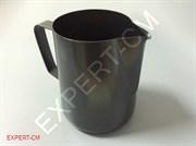 Питчер для молока 0.6л Черный PTFE покрытие