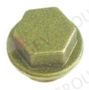 Заглушка группы (латунь) L10мм M18x1,5