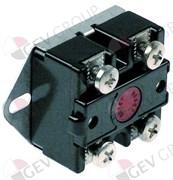 Термостат контактный 120dС, 2х полюс, 25А