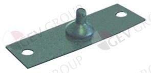 Кнопка-лента блока панели (1 кнопка) L52мм h22мм