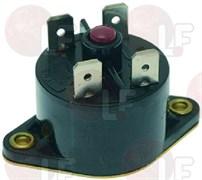 Термостат контактный 125dC, 10А 250В